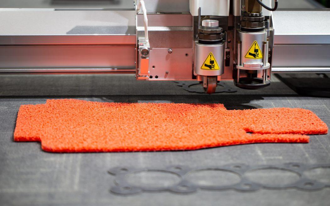 Cięcie laserem tekstyliów i tkanin