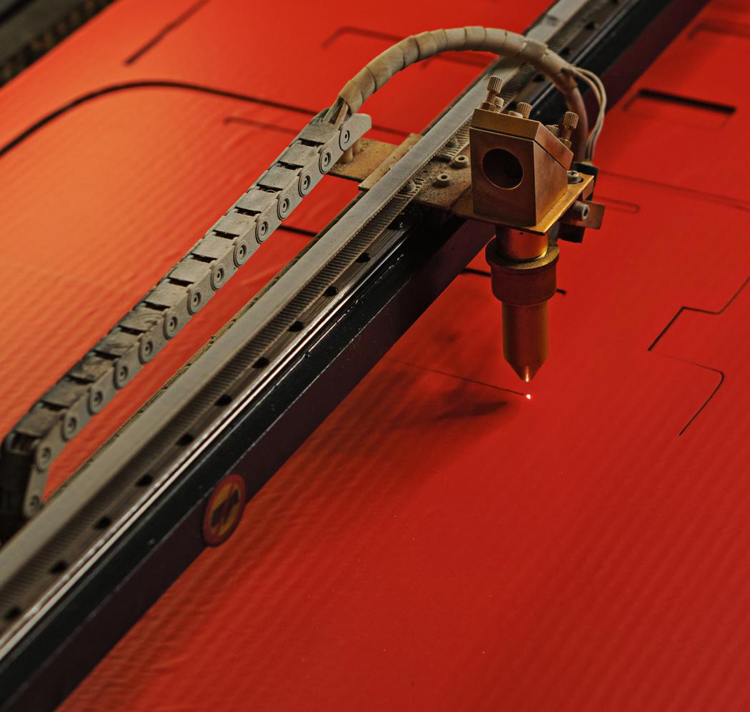 Laserowa obróbka kartonu i papieru