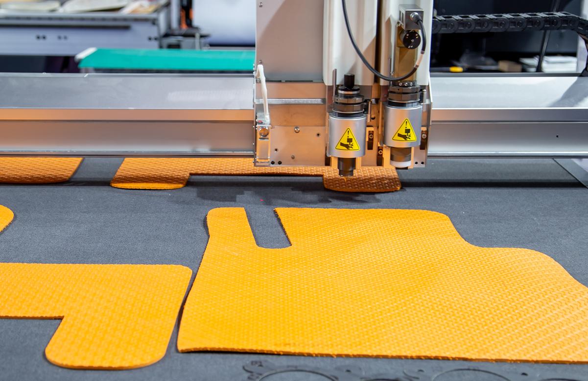 Laserowa obróbka tekstyliów i tkanin
