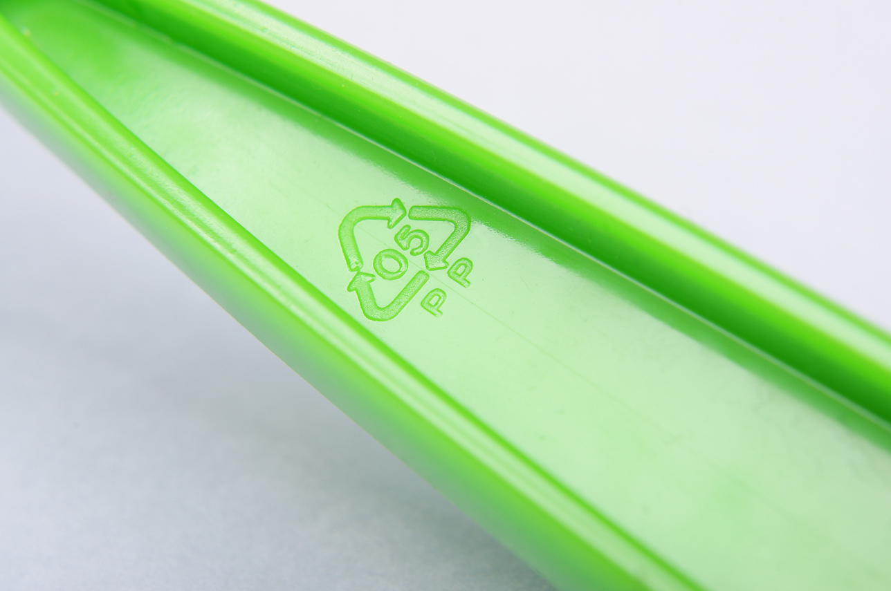 Laserowe grawerowanie materiału - plastik