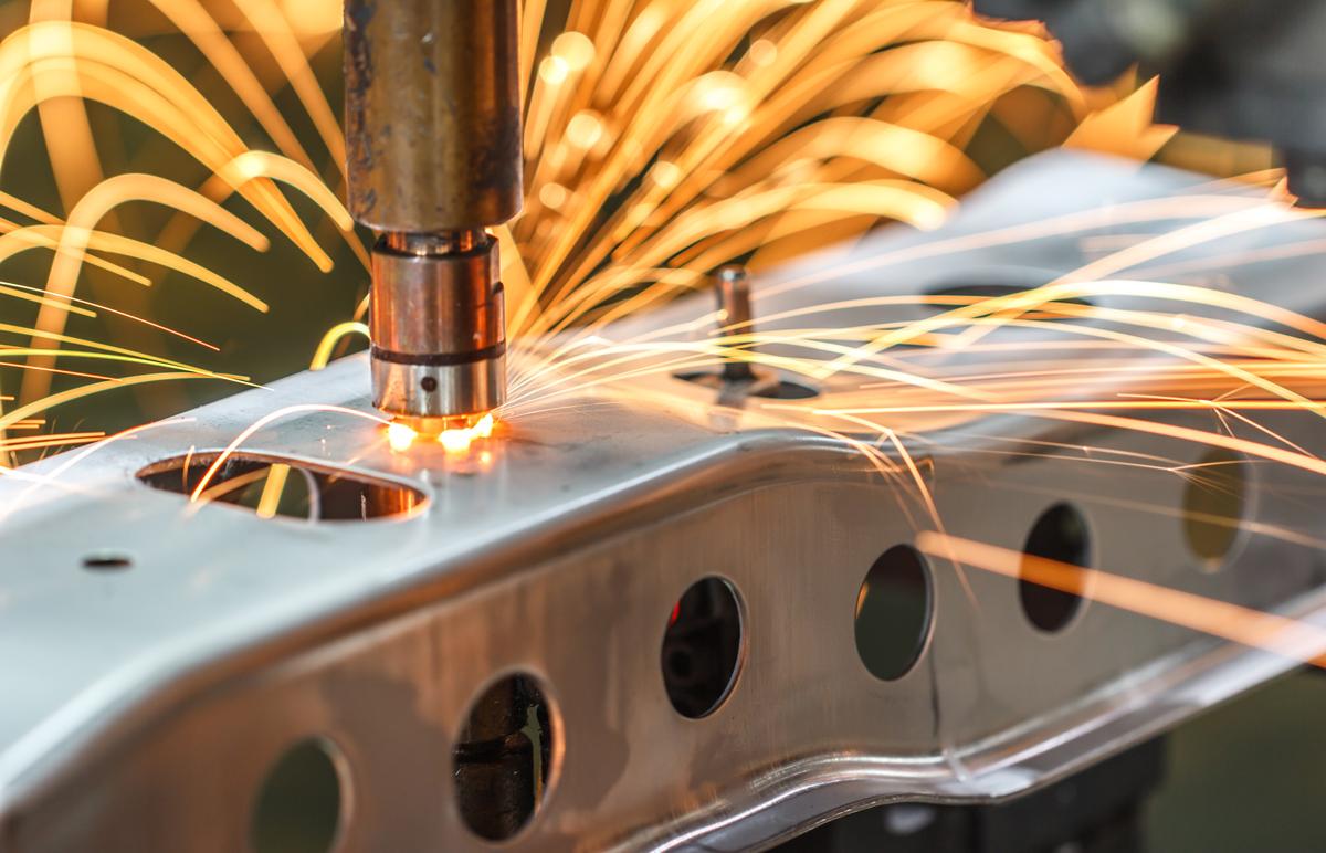 Laserowe spawanie metalu